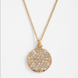 Kate Spade All That Glitters Idiom Pavé Necklace
